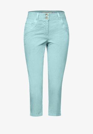 Denim shorts - grün