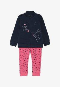 OVS - BABY ZIP SET - Zip-up hoodie - dress blues - 3