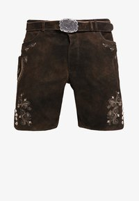 Stockerpoint - CORBI - Kožené kalhoty - bison - 5