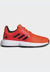 adidas Performance - COURTJAM - Clay court tennis shoes - orange - 8
