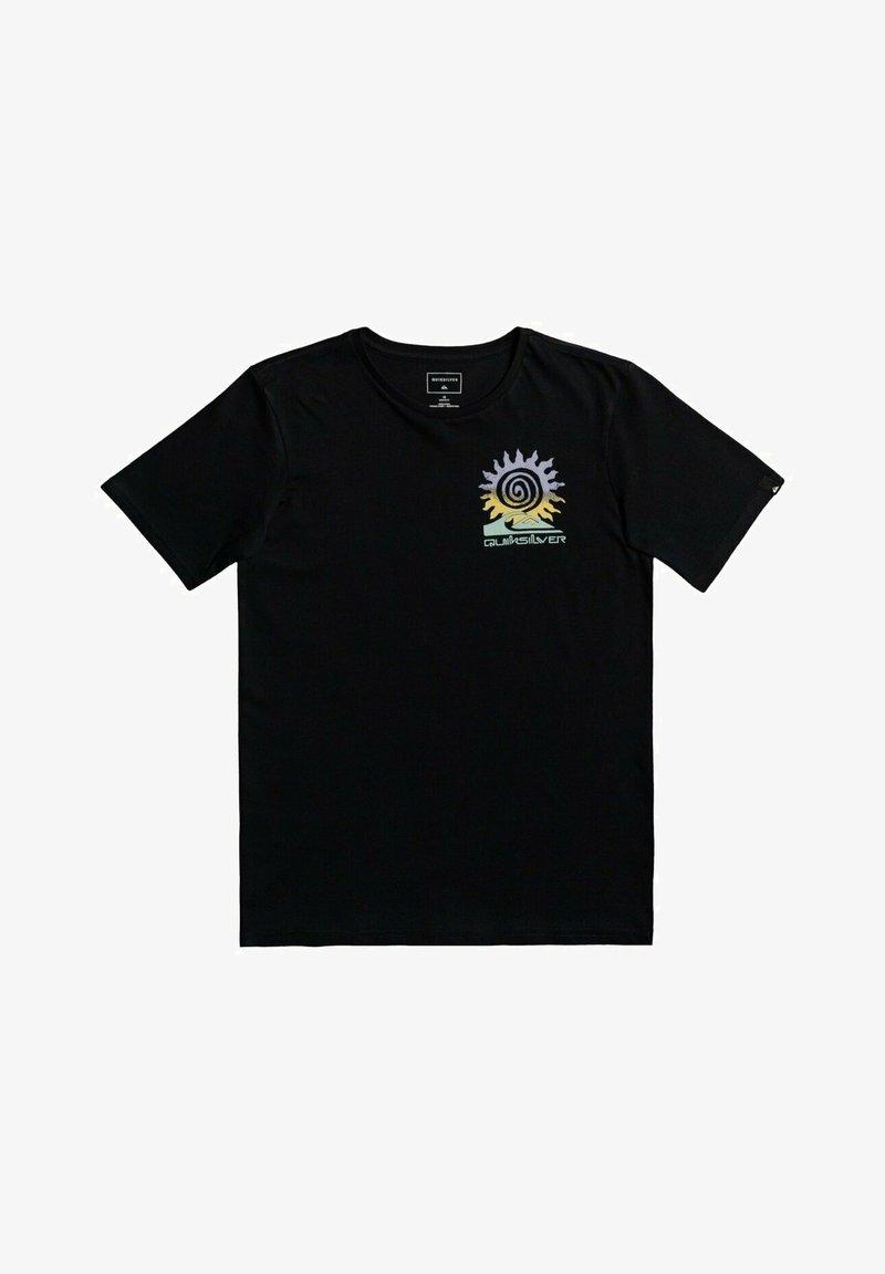 Quiksilver - Printtipaita - black