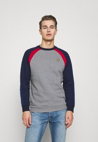 Lyle & Scott - THREE PANEL - Sweatshirt - mid grey marl - 0