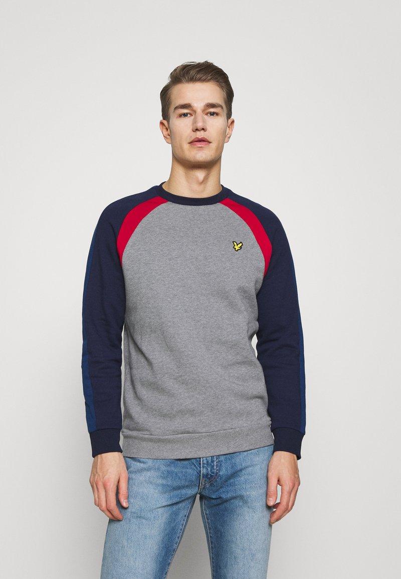 Lyle & Scott - THREE PANEL - Sweatshirt - mid grey marl
