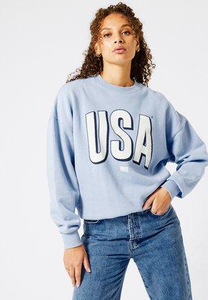 SUTTON - Sweater - babyblue