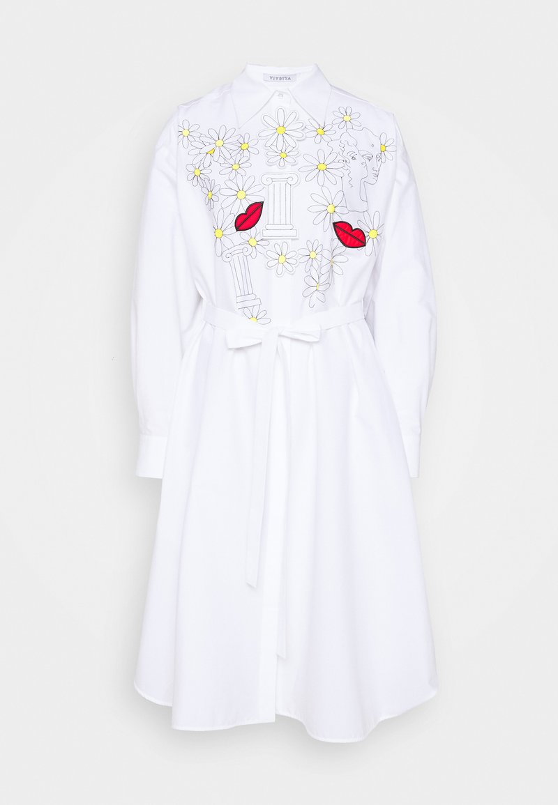 Vivetta - DRESSES - Sukienka koszulowa - white
