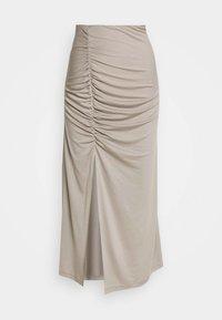 Weekday - AMALA SKIRT - Spódnica ołówkowa  - beige - 0