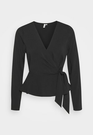 WRAP ME PRETTY BLOUSE - Blouse - black