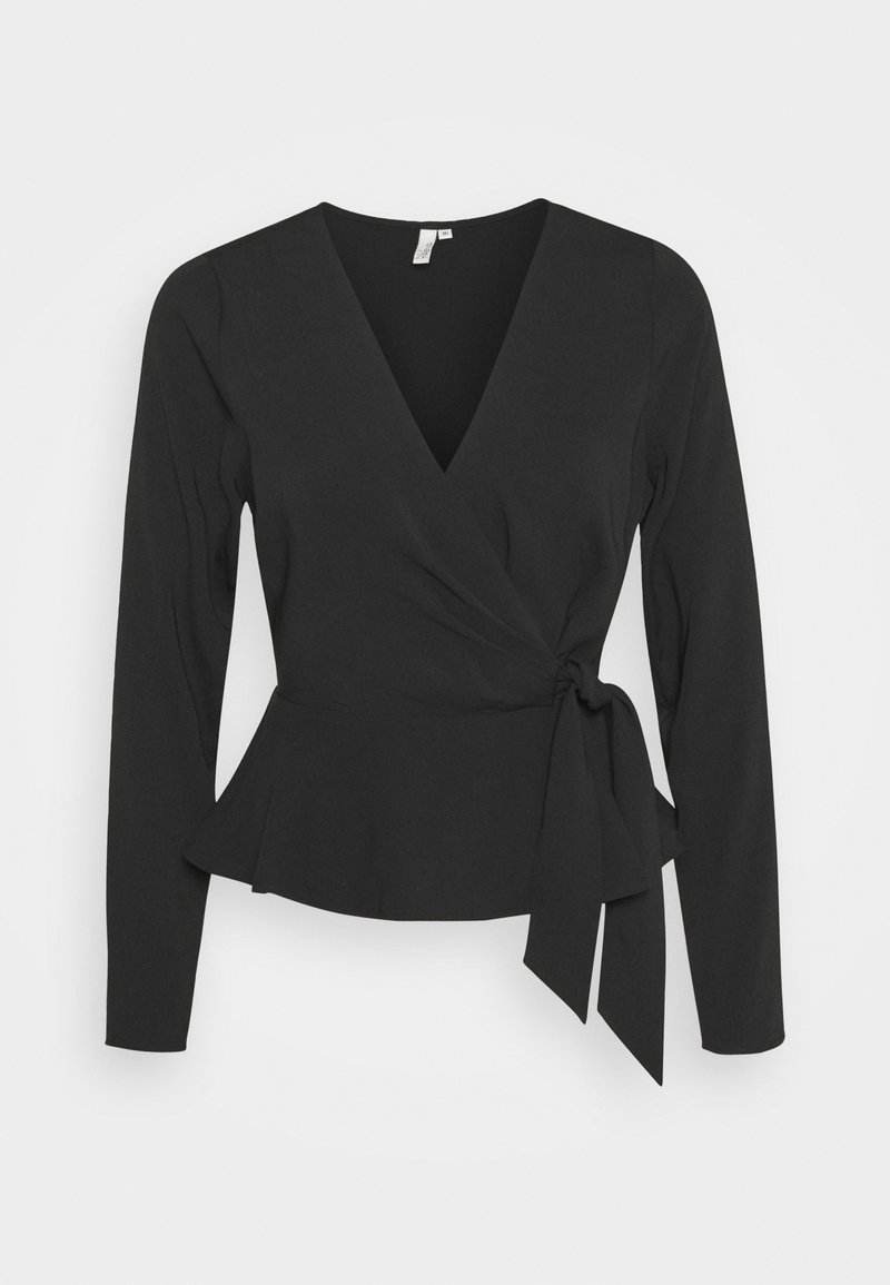 Nly by Nelly - WRAP ME PRETTY BLOUSE - Blouse - black