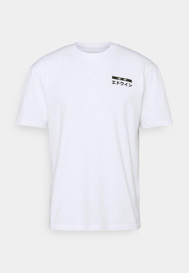HANADOBORO UNISEX - T-shirt con stampa - white