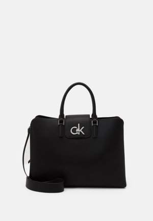 BUSINESS TOTE - Handbag - black
