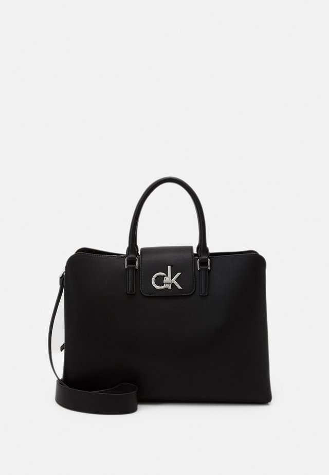 BUSINESS TOTE - Borsa a mano - black
