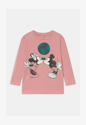 DISNEY MINNIE MOUSE & MICKEY MOUSE - Top s dlouhým rukávem - blush