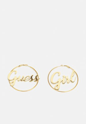 GIRL - Earrings - gold-coloured