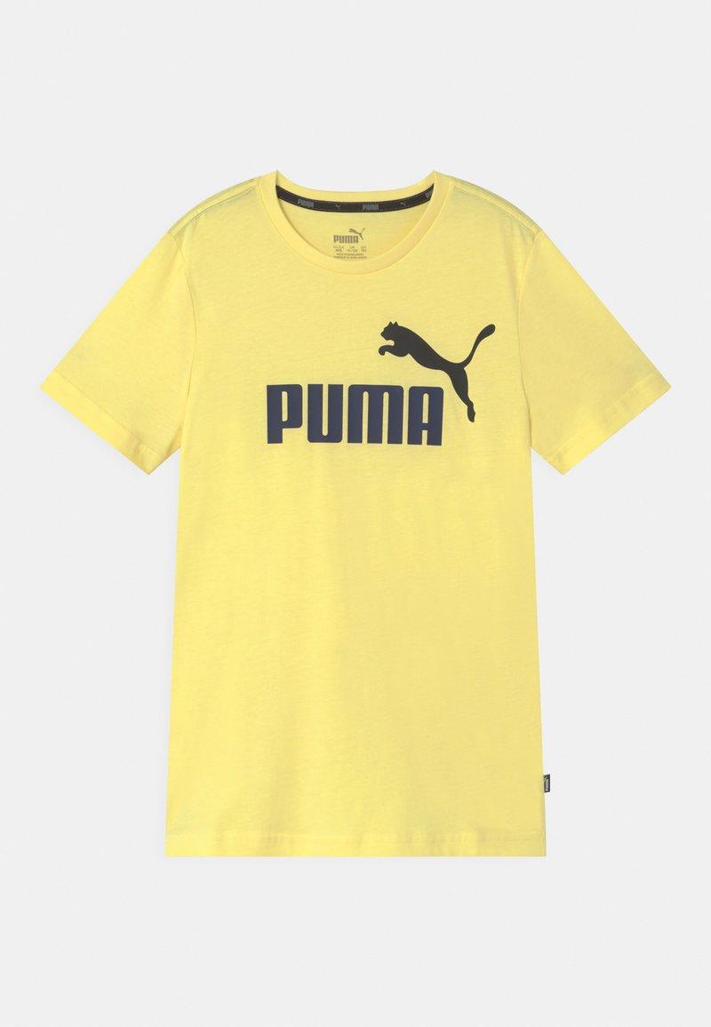 Puma - LOGO UNISEX - Print T-shirt - yellow pear