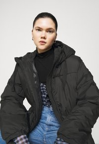 Weekday - ALLY LONG PUFFER - Winter coat - black - 3