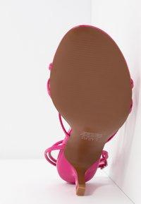 Who What Wear - FREYA - Sandals - magenta - 6