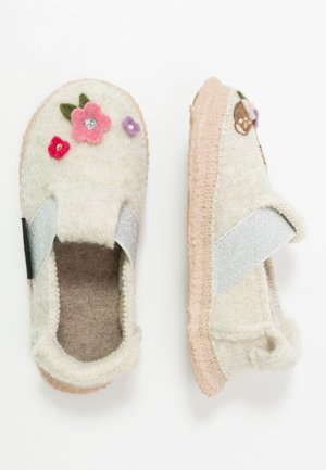 SWEET BAMBY - Slippers - weiß