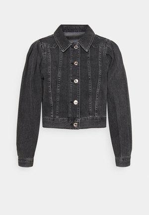 ONLCHARLIE  LIFE PUFF JACKET - Denim jacket - black