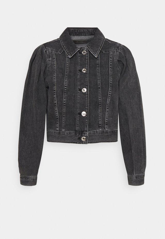 ONLCHARLIE  LIFE PUFF JACKET - Veste en jean - black