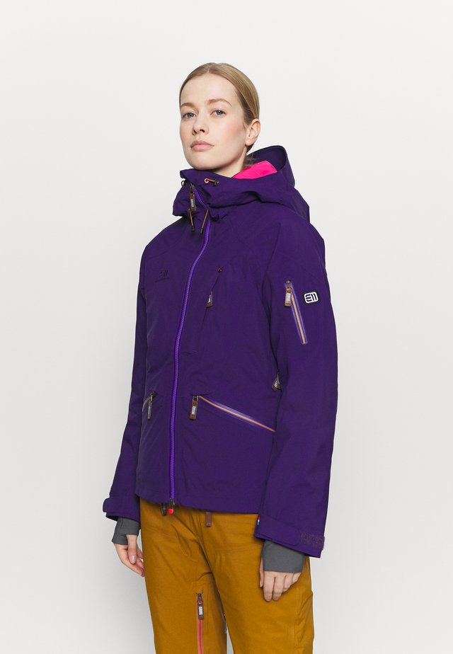 WOMEN'S ZERMATT JACKET - Chaqueta de esquí - purple