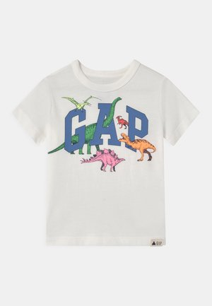 TODDLER BOY LOGO GRAPHIC - Triko s potiskem - new off white