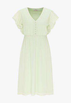 Shirt dress - hellgrün