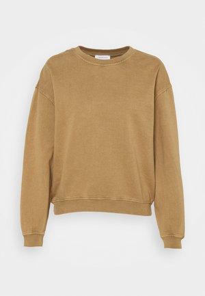 ACID WASH - Sweatshirt - camel