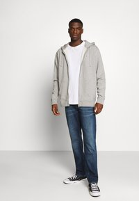 Tommy Jeans - CLASSICS ZIPTHROUGH - veste en sweat zippée - grey - 1