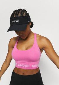 adidas Performance - AEROKNIT BRA - Light support sports bra - pink - 3