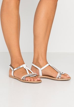 HAGO - Sandals - blanc/multicolor