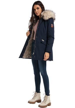 CRISTAL - Winter coat - blue