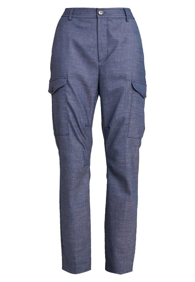 RAY MARLY PANT - Spodnie materiałowe - dark blue