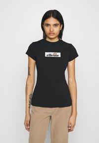 Ellesse - OMBRA - T-shirts print - black - 0