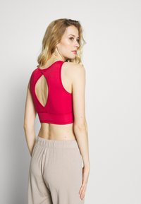 South Beach - RED CROP TOP - Sport BH - red - 2
