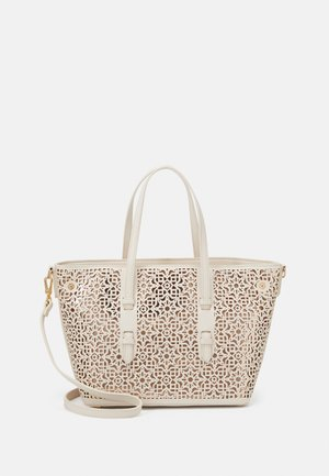 SHOPPER BAG - Handbag - ecru