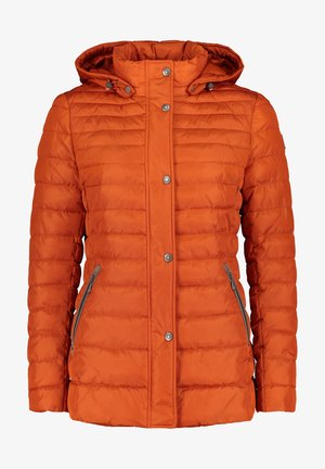 Winter jacket - burnt ochre