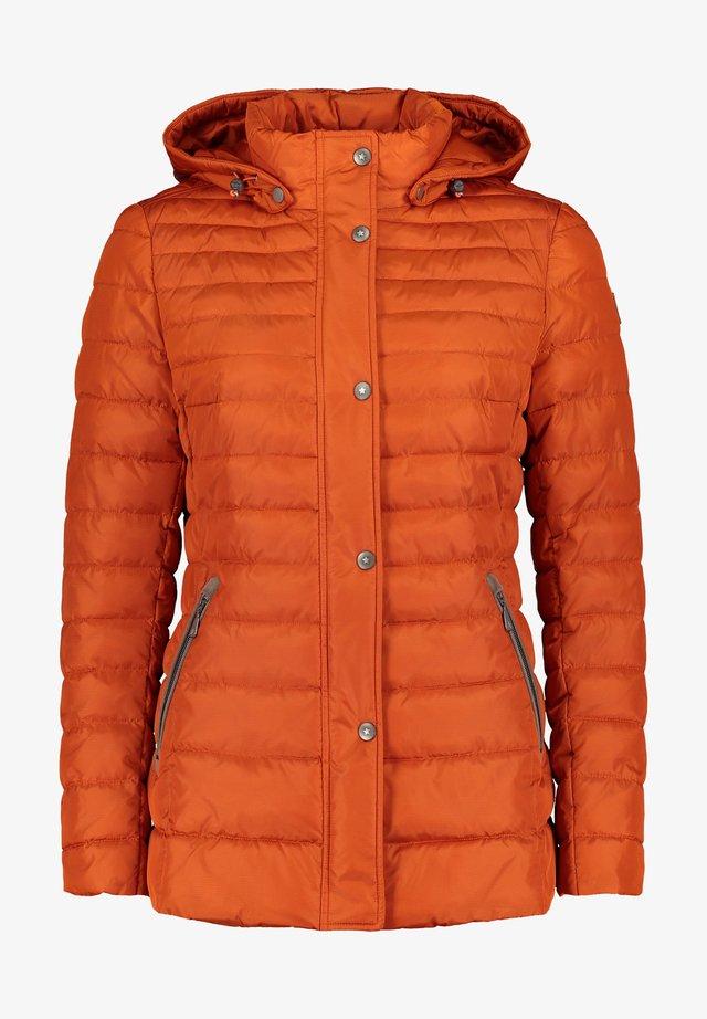 Winter jacket - burnt ochre