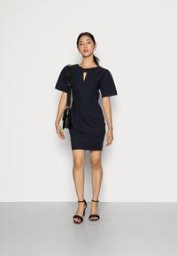 Closet - CLOSET KNOT DETAIL DRESS - Day dress - navy - 1