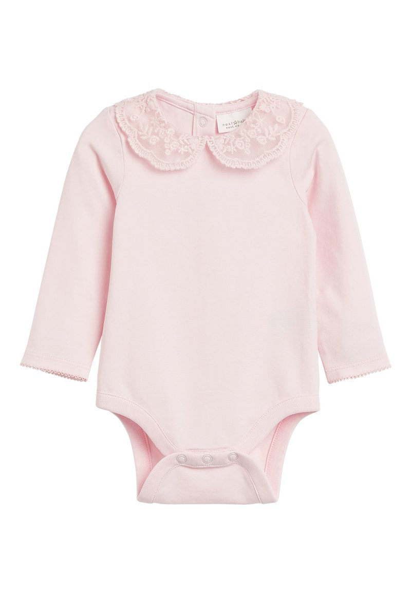 Next - PINK LACE COLLAR BODY (0MTHS-3YRS) - Body - pink