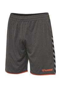 Hummel - Sports shorts - dark grey - 2