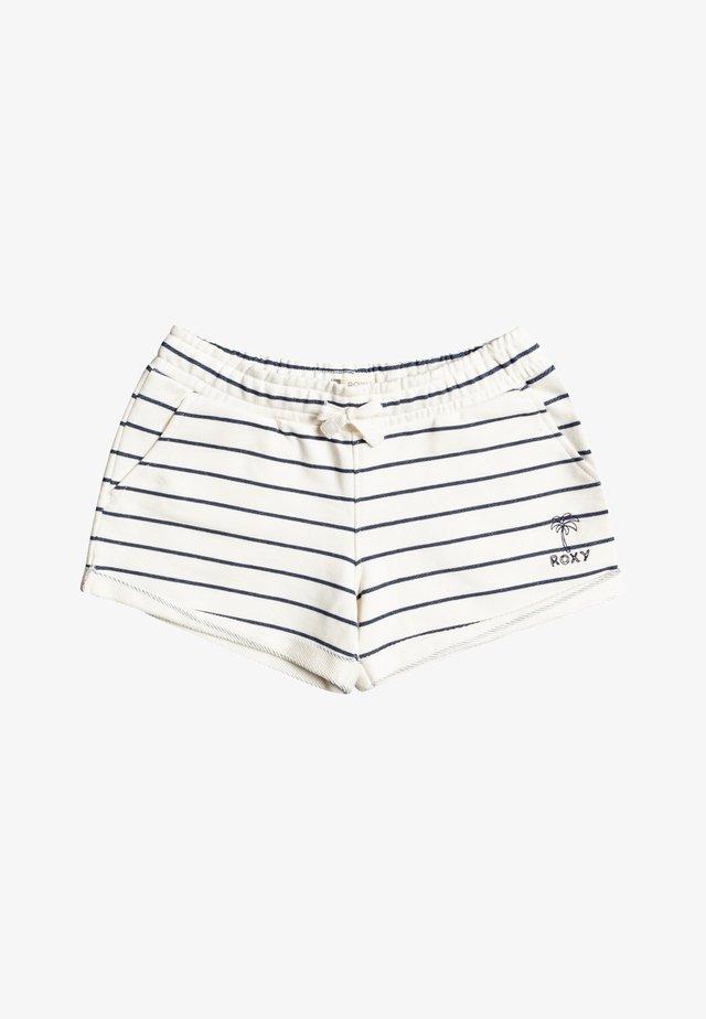 BAHIA PLAYA  - Shorts - snow white kuta stripes