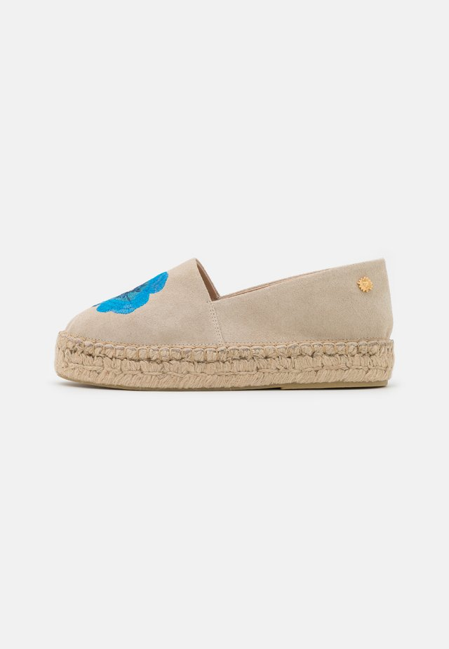 SUMMER - Espadrillot - fan cream