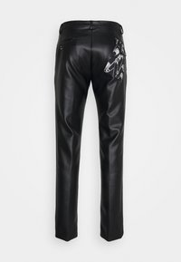 Twisted Tailor - SYD TROUSERS - Kangashousut - black - 1