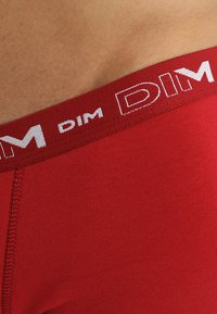 DIM - 3 PACK - Pants - gris plomb/rouge chilli/noir - 6