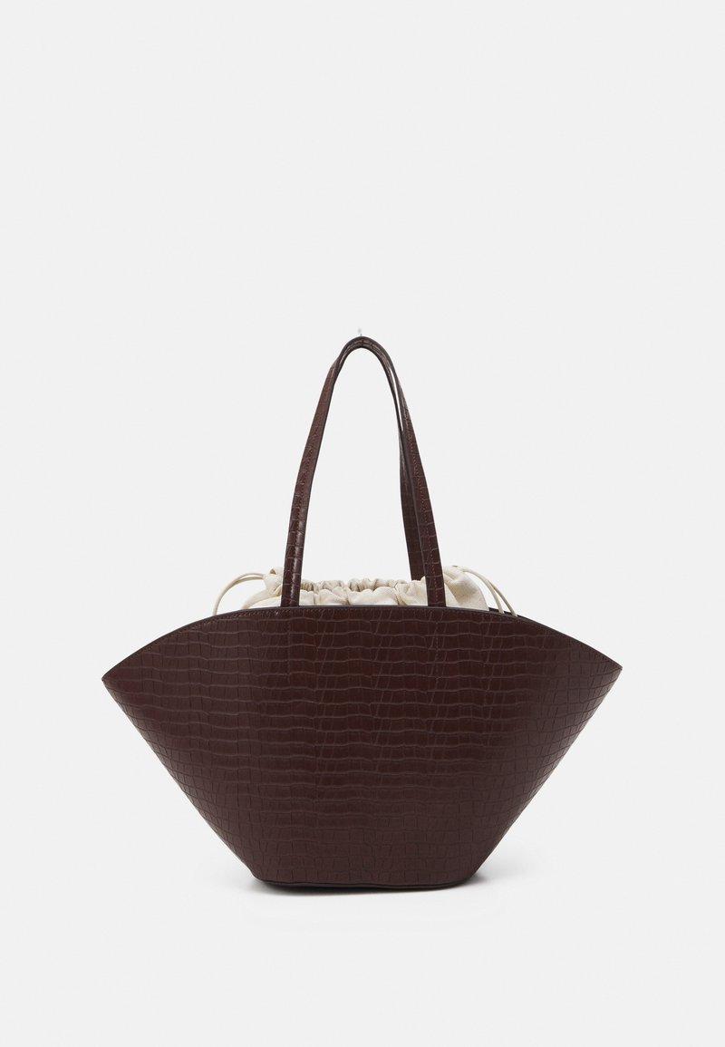 Who What Wear - KORY SET - Handbag - deep mahogany