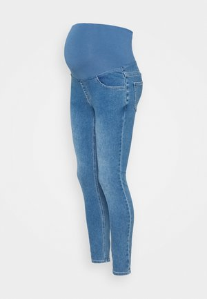 MATERNITY SUPER STRETCH - Jeans Skinny Fit - coogee blue