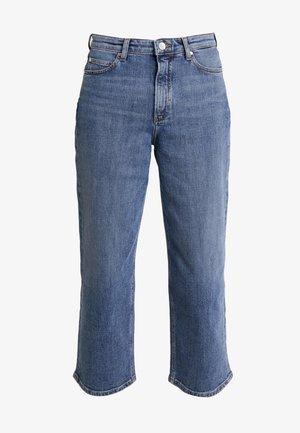 TOMMA - Straight leg jeans - eco salt pepper wash