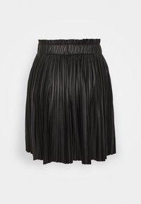 ONLY - ONLMIE PLEAT SKIRT - Mini skirt - black - 1