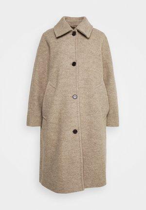 Klasický kabát - mole dusty light