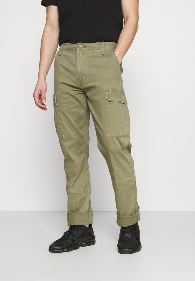 CASEY - Pantalon cargo - lone tree green